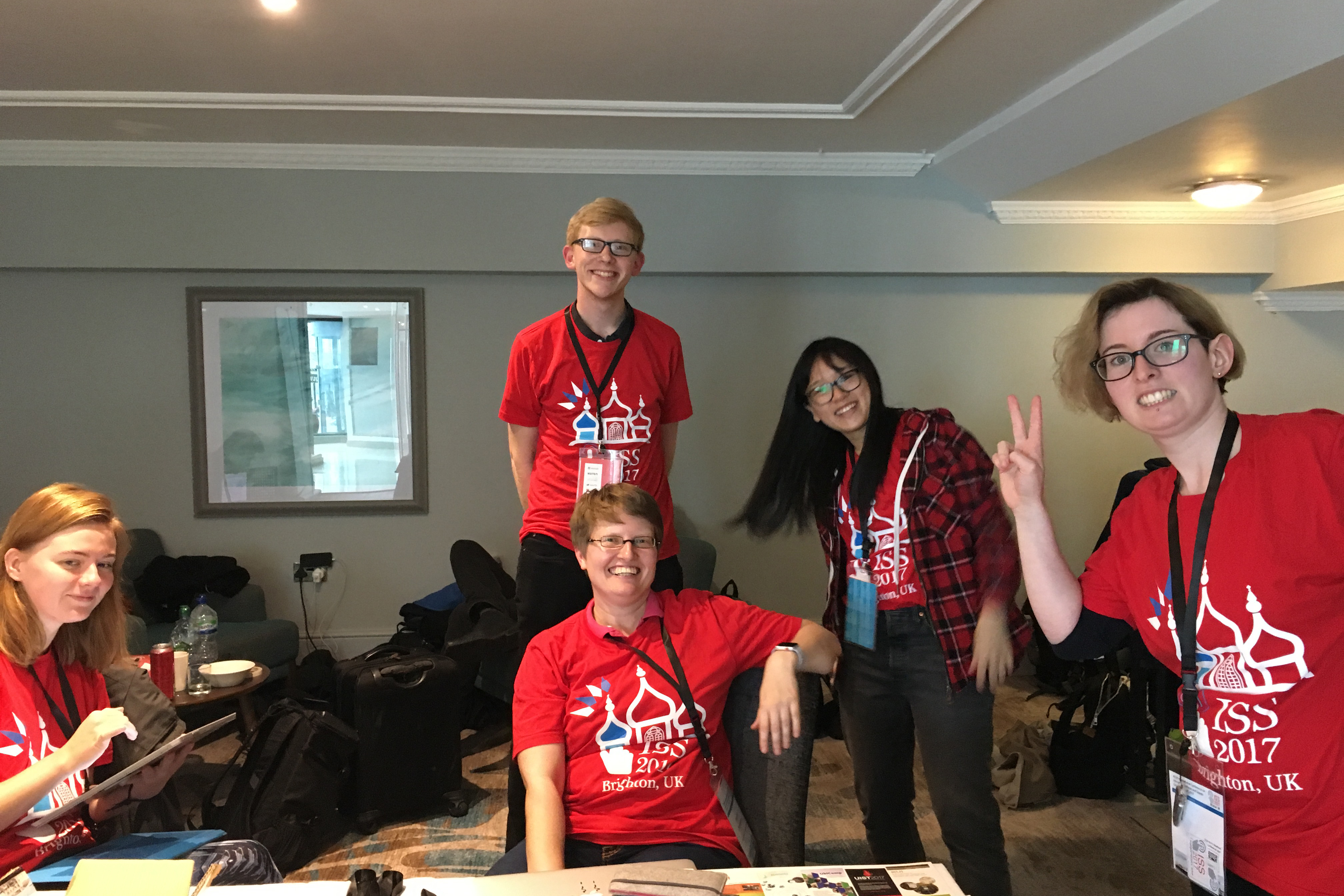 Student Volunteers at ISS 2017